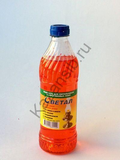 Жидкость для керосиновых ламп Светал 0,4 л