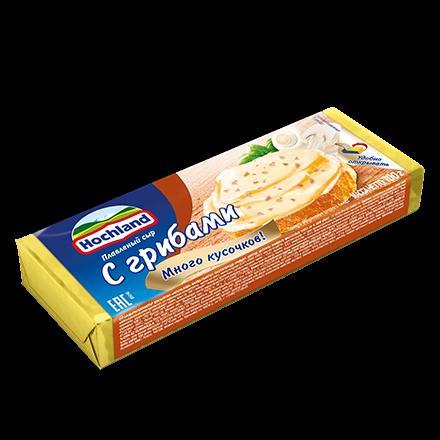 Сыр Хохланд 100г 48% Грибы блок