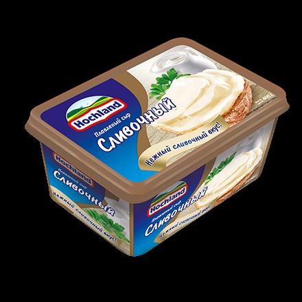 Сыр Хохланд 400г 48% Сливочный ванночка