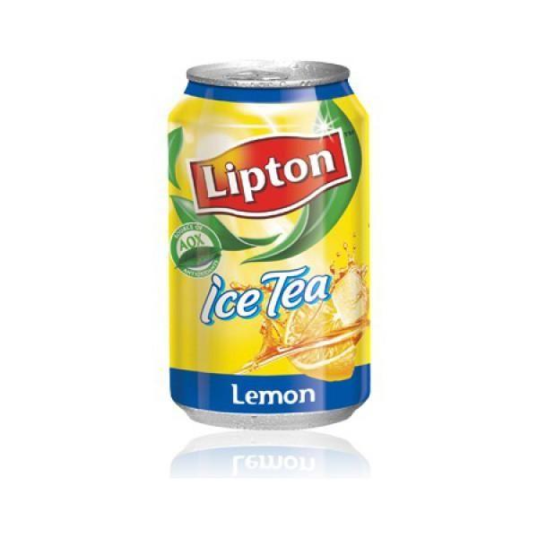 Чай Липтон 0,33л Лимон ж/б Пепси