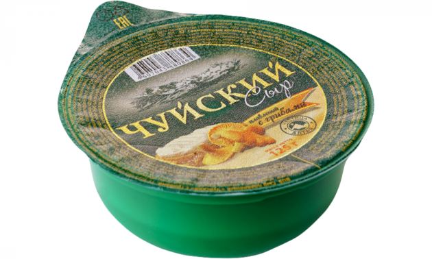 Сыр плавленый Чуйский с грибами 125г