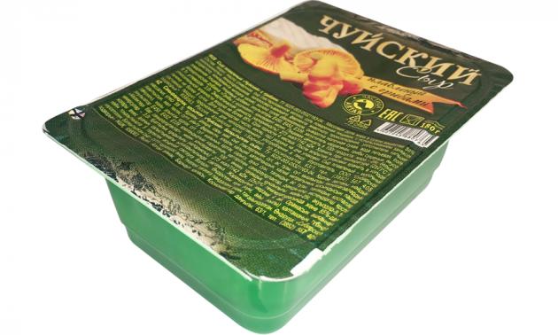 Сыр плавленый Чуйский с грибами 180г