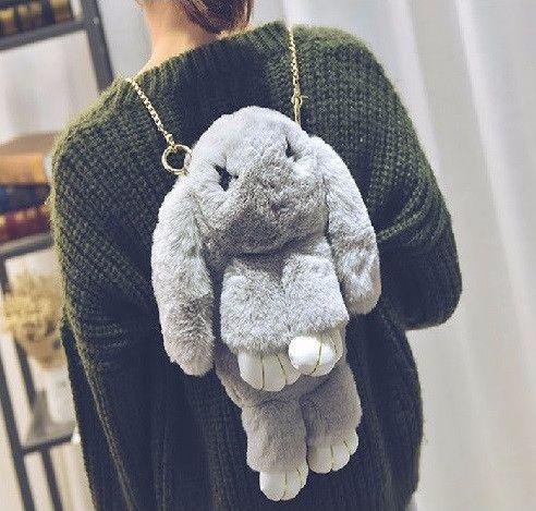 Сумка-рюкзачок Зайка