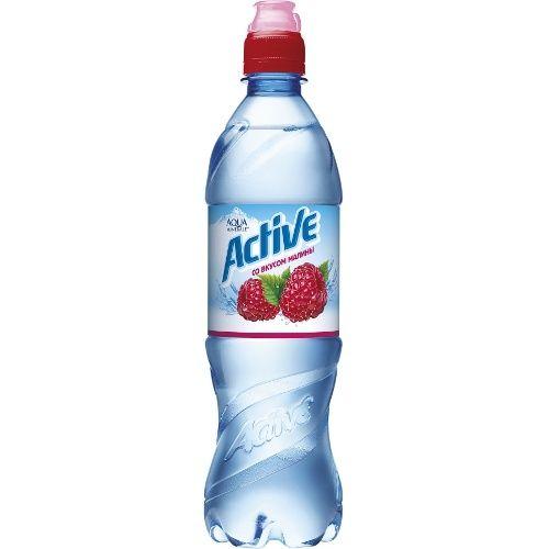 Мин.вода Аква Актив 0,6л Малина б/газ Пепси