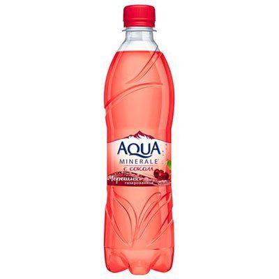 Мин.вода Аква Минерале 0,6л Черешня газ Пепси
