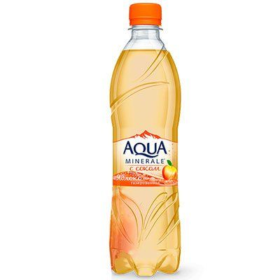 Мин.вода Аква Минерале 0,6л Яблоко газ Пепси