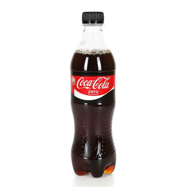 Газ. вода Кока-Кола 0,5л Zero Кока-Кола