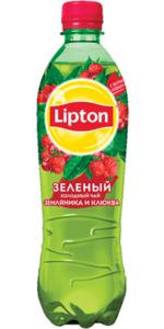 Чай Липтон 0,5л Зеленый Земляника/Клюква пэт Пепси