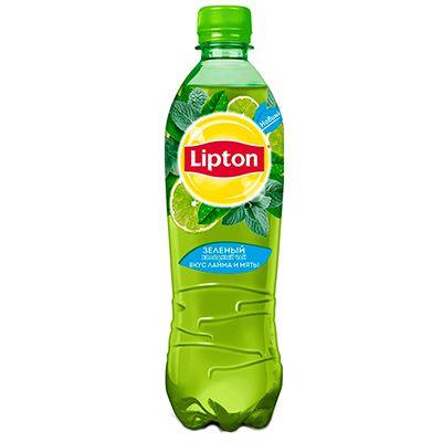 Чай Липтон 0,5л Зеленый пэт Пепси