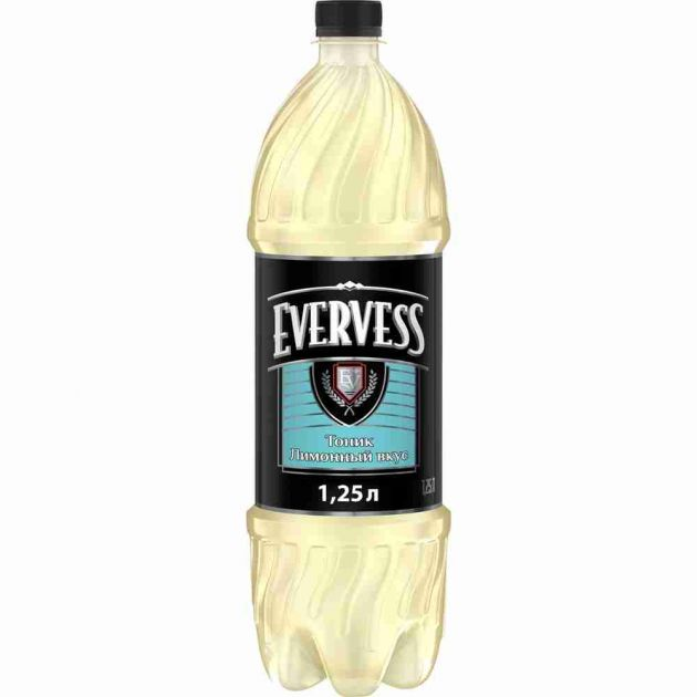 Газ. вода Эвервес Тоник Лимон 1,25л Пепси