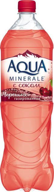 Мин.вода Аква Минерале 1,5л Черешня газ Пепси