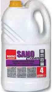 Sano Professional Sanoclear жидкость для чистки окон и других поверхностей 4 л