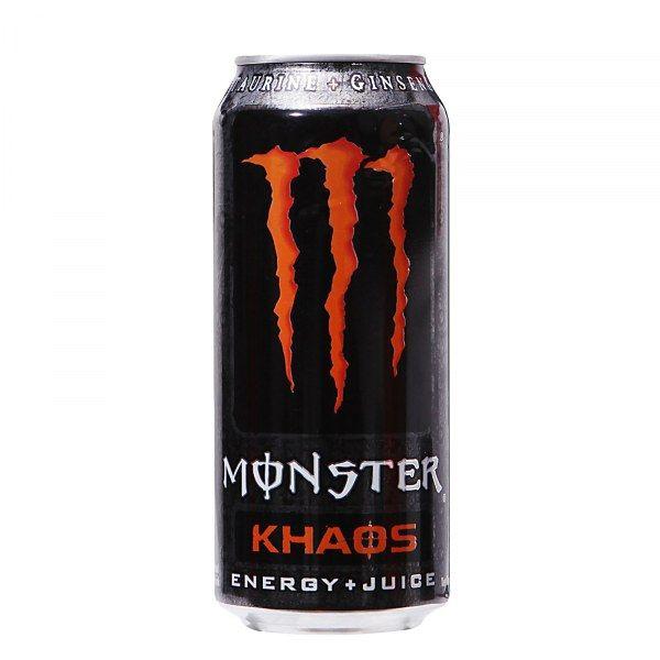 Энерг. напиток Монстр Хаос 0,5л ж/б газ Кока-Кола