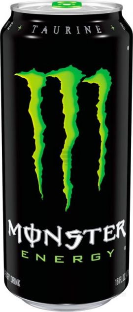 Энерг. напиток Монстр Энерджи 0,5л ж/б газ Кока-Кола