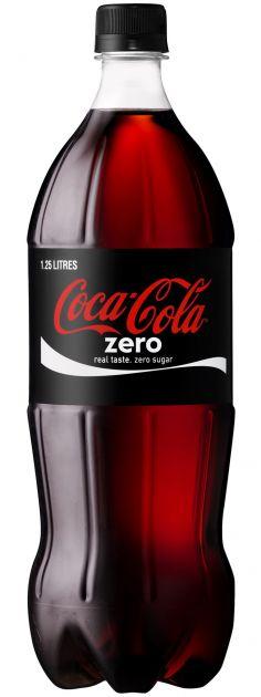 Газ. вода Кока-Кола 1л Zero Кока-Кола