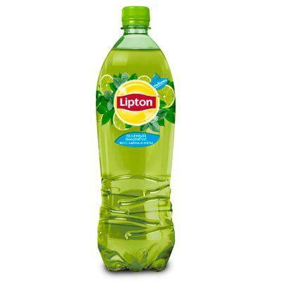 Чай Липтон 1л Зеленый пэт Пепси