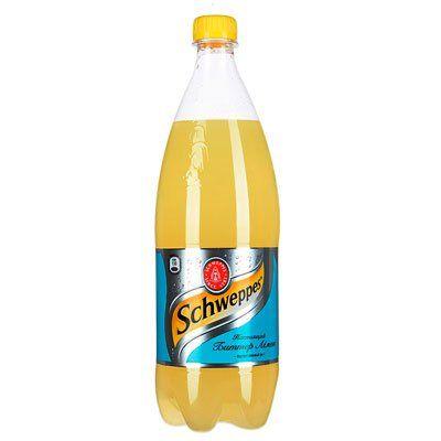 Газ. вода Швеппс 1л Лимон Кока-Кола