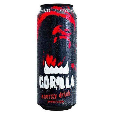 Энерг. напиток Горилла Гранат газ 0,5л ж/б