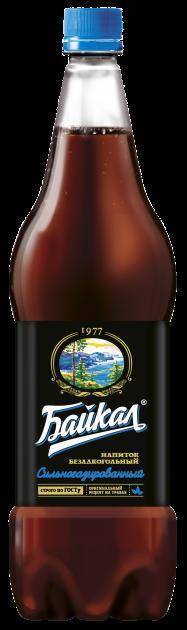 Газ. вода Напитки из Черноголовки 1,5л Байкал 1977 пэт