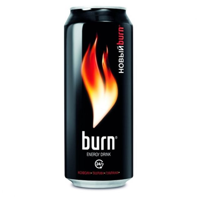 Энерг. напиток Бёрн 0,5л ж/б газ Кока-Кола