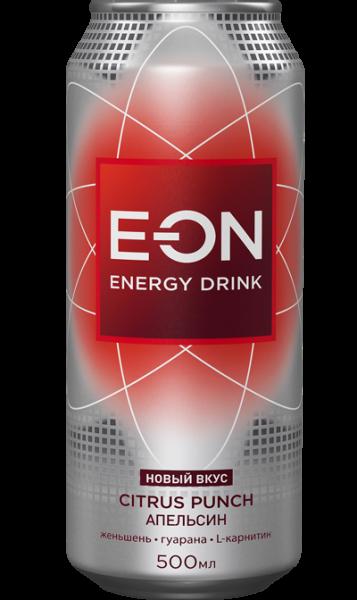 Энерг. напиток E-ON 0,5 ж/б Цитрус Пунш (Грейп.Апельс.Лимон)