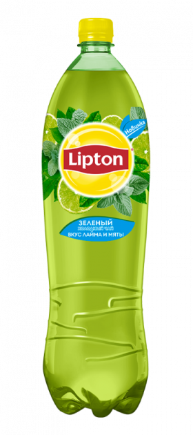 Чай Липтон 1,5л Зеленый пэт Пепси