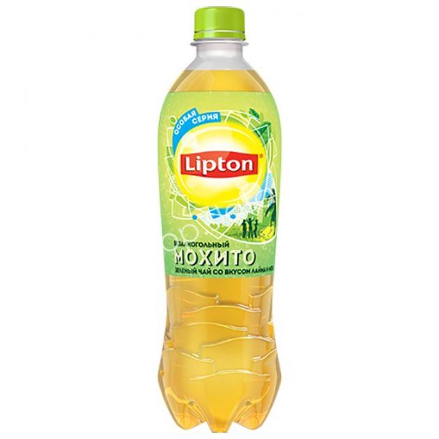 Чай Липтон 1,5л Зеленый Лайм и Мохито пэт Пепси