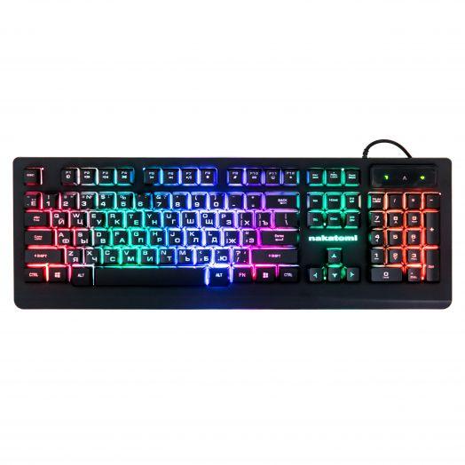 Клавиатура игровая Nakatomi KG-33U (черная)
