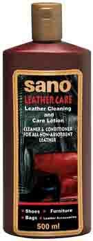 Sano Leather Care Liquid средство для ухода за кожей 0,5 л