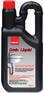 Sano Drain Liquid Жидкое средство для прочистки труб 1 л