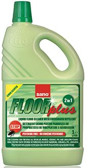 Sano Floor Plus Средство для мытья полов с добавлением репеллента безопасно для детей и домашних животных 1 л