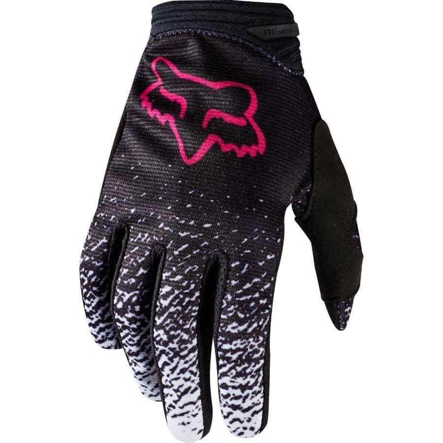 Fox - 2018 Dirtpaw Girls Black/Pink перчатки подростковые, черно-розовые