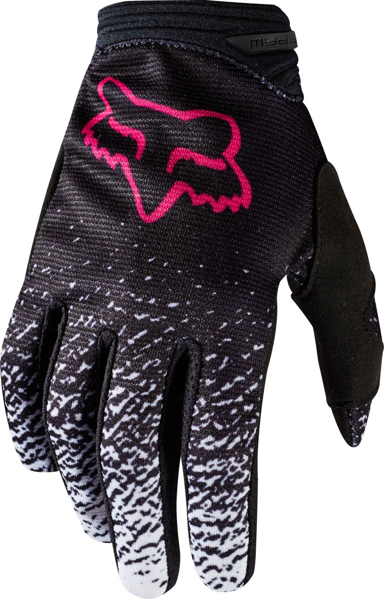 Fox - 2018 Dirtpaw Womens Black/Pink перчатки женские, черно-розовые