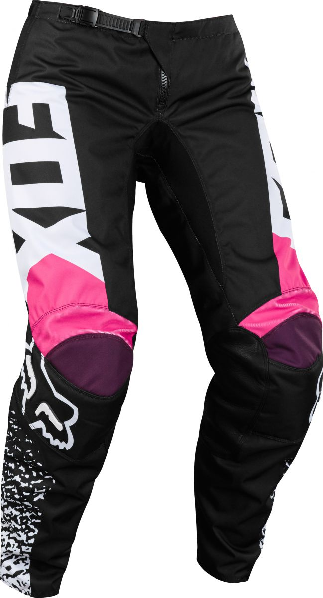 Fox - 2018 180 Womens Youth Black/Pink штаны подростковые, черно-розовые