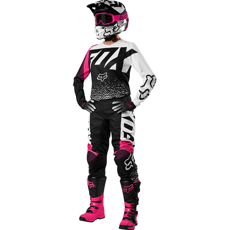 Fox - 2018 180 Womens Black/Pink комплект женский джерси и штаны, черно-розовый