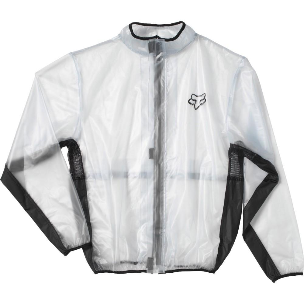 Fox Fluid MX Youth Jacket дождевик подростковый, прозрачный