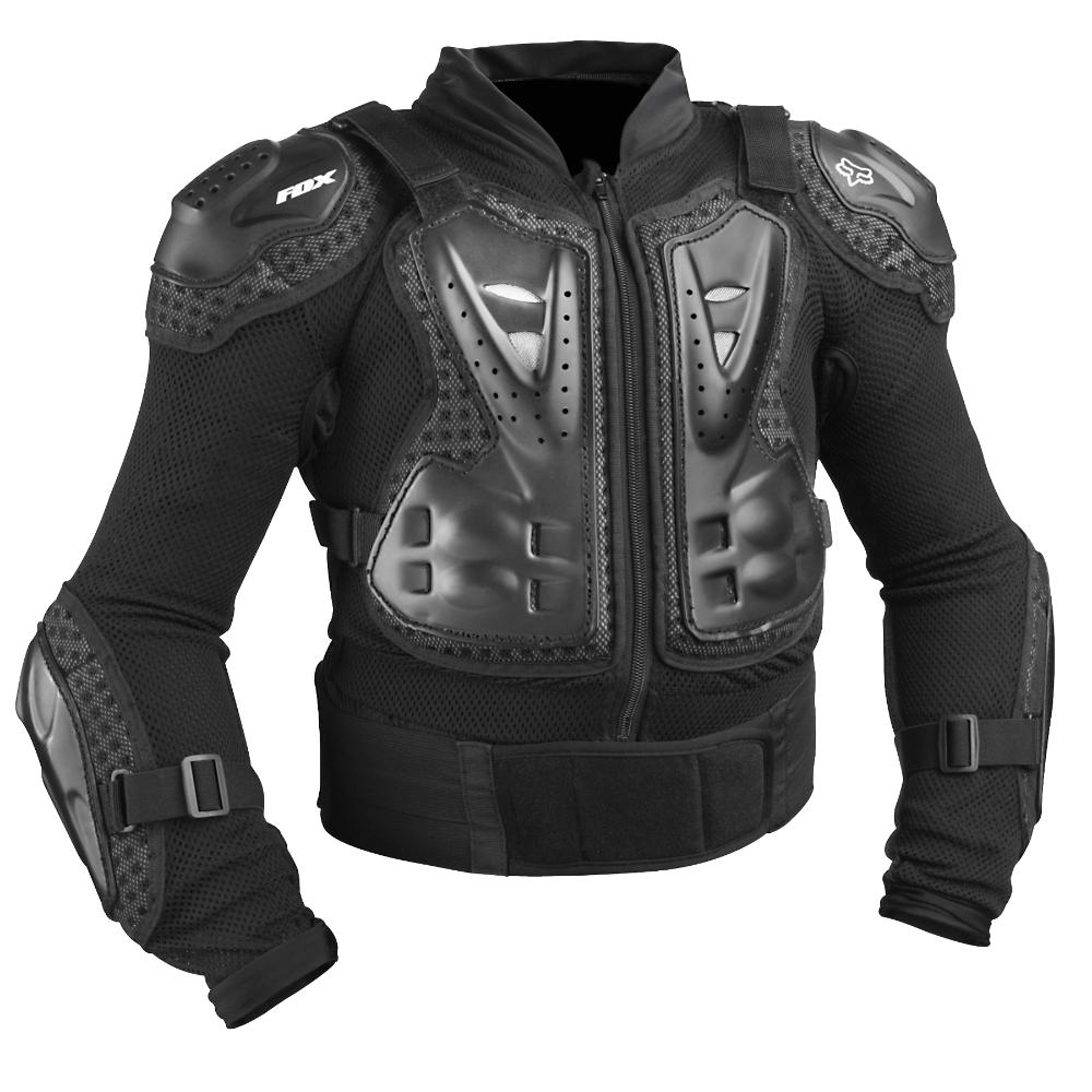 Fox - 2019 Titan Sport Jacket Youth Black жилет защитный подростковый, черный