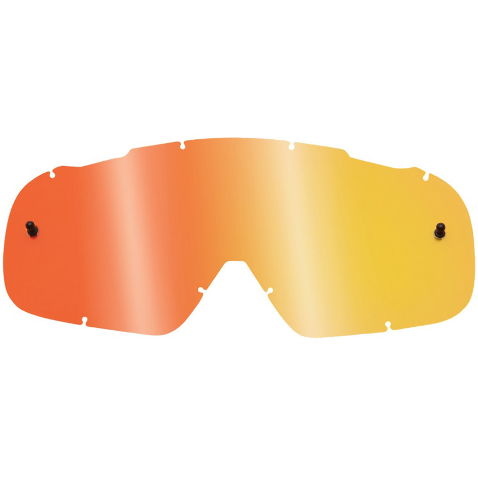 Fox - 2018 Air Space Lenses Youth Spark Orange линза зеркальная для подростковых очков, оранжевая