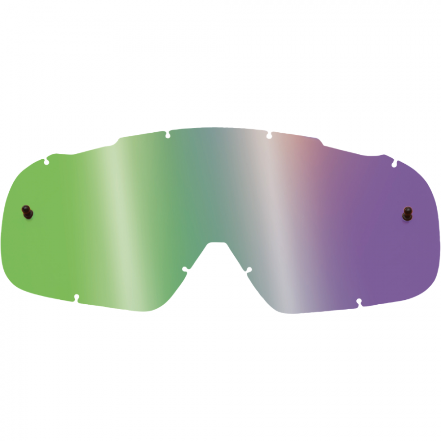 Fox - 2018 Air Space Lenses Youth Spark Blue линза зеркальная для подростковых очков, синяя
