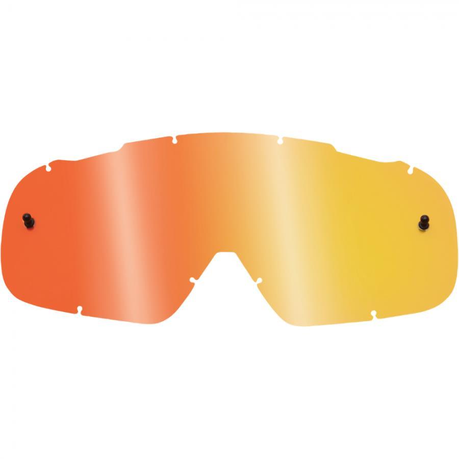Fox - 2018 Air Space Lenses Youth Spark Red линза зеркальная, для подростковых очков, красная