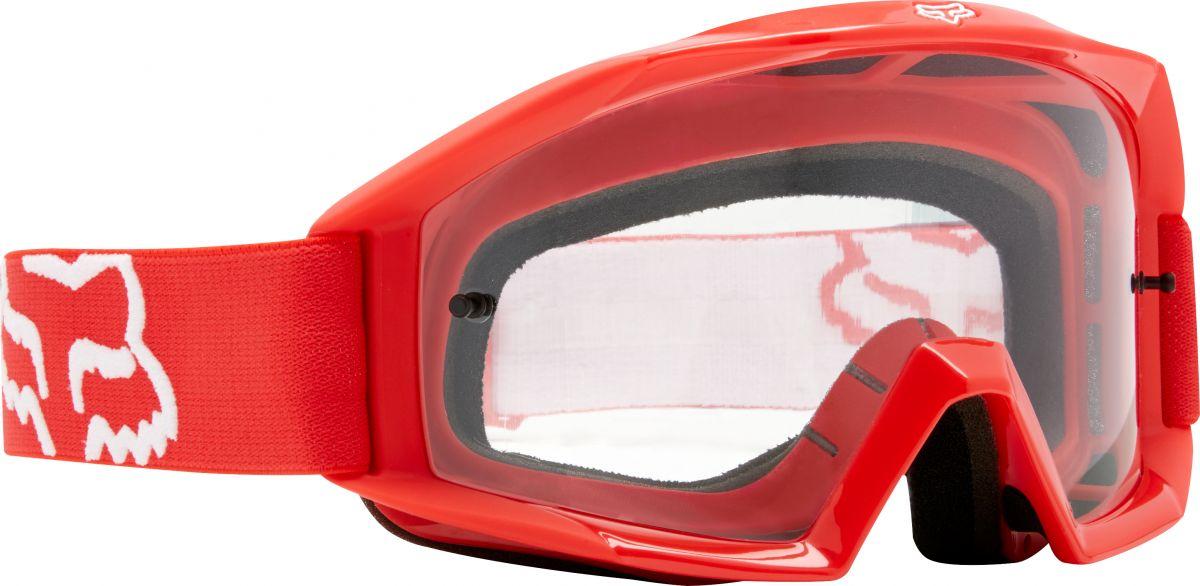 Fox - 2018 Main Youth Red/Clear очки подростковые, красные