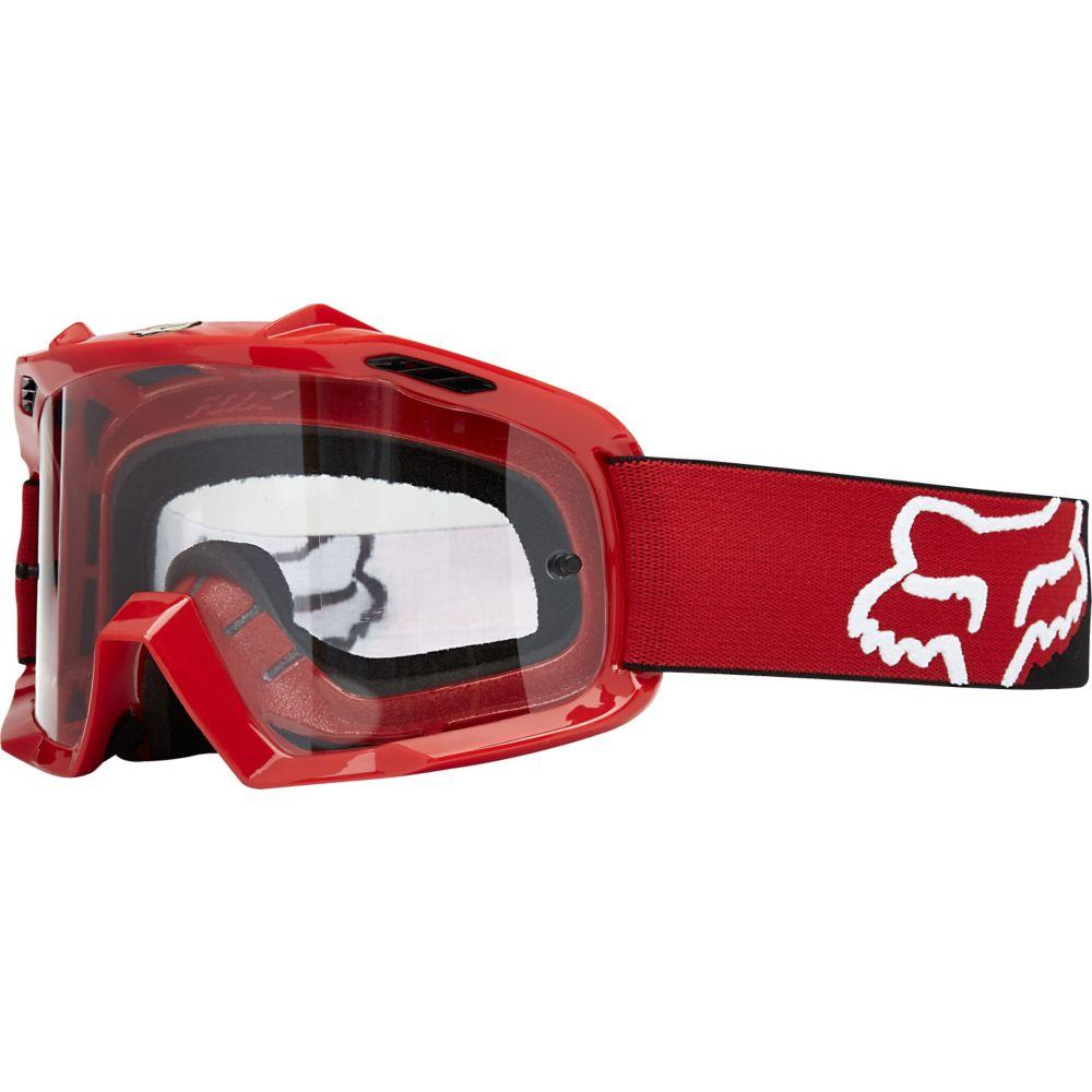 Fox - 2018 Air Space Killa Youth Red/Clear очки подростковые, красные