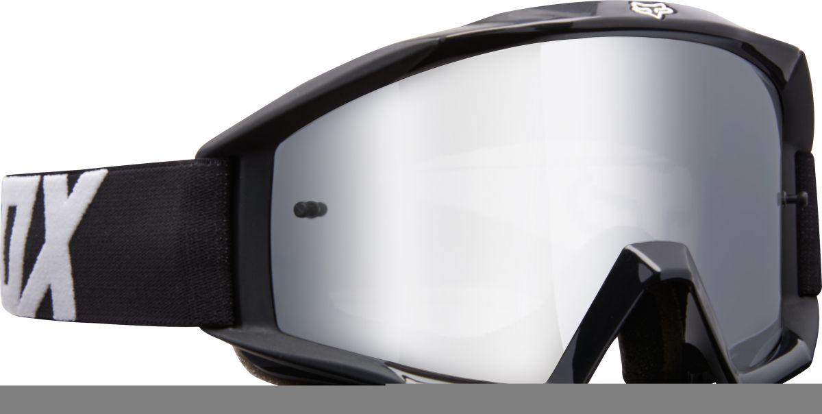 Fox - 2018 Main Race Youth Black очки подростковые, черные