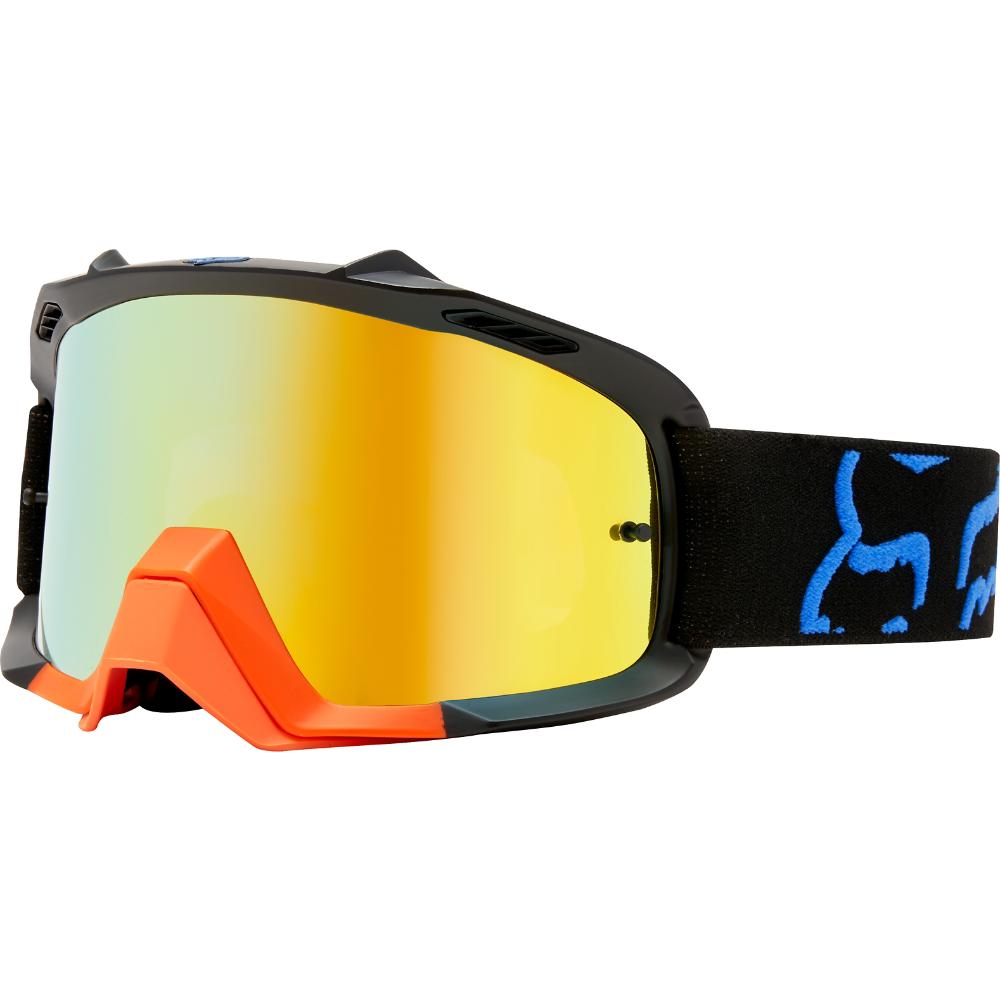 Fox - 2018 Air Space Preme Youth Black/Yellow очки подростковые, черно-желтые