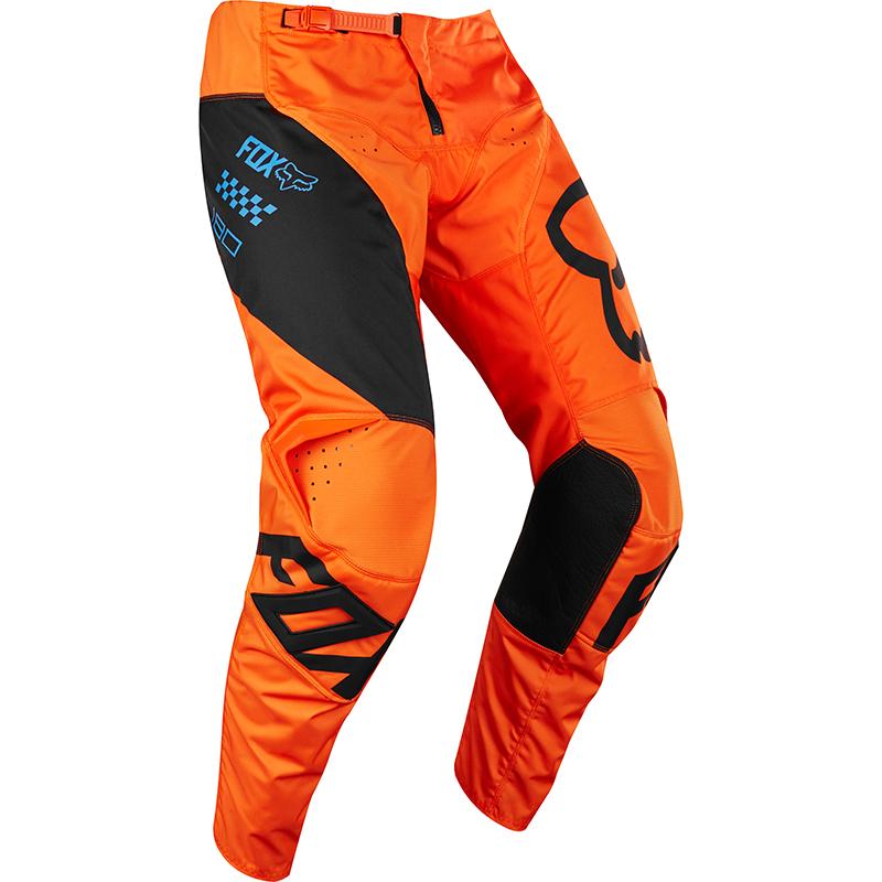 Fox - 2018 180 Mastar Youth Pant Orange штаны подростковые, оранжевые