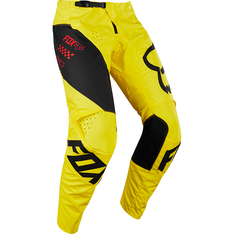 Fox - 2018 180 Mastar Youth Pant Yellow штаны подростковые, желтые