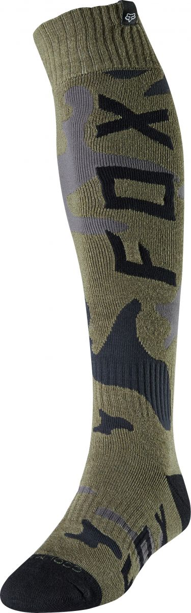 Fox - 2018 Coolmax Thin Socks Camo носки, зеленые