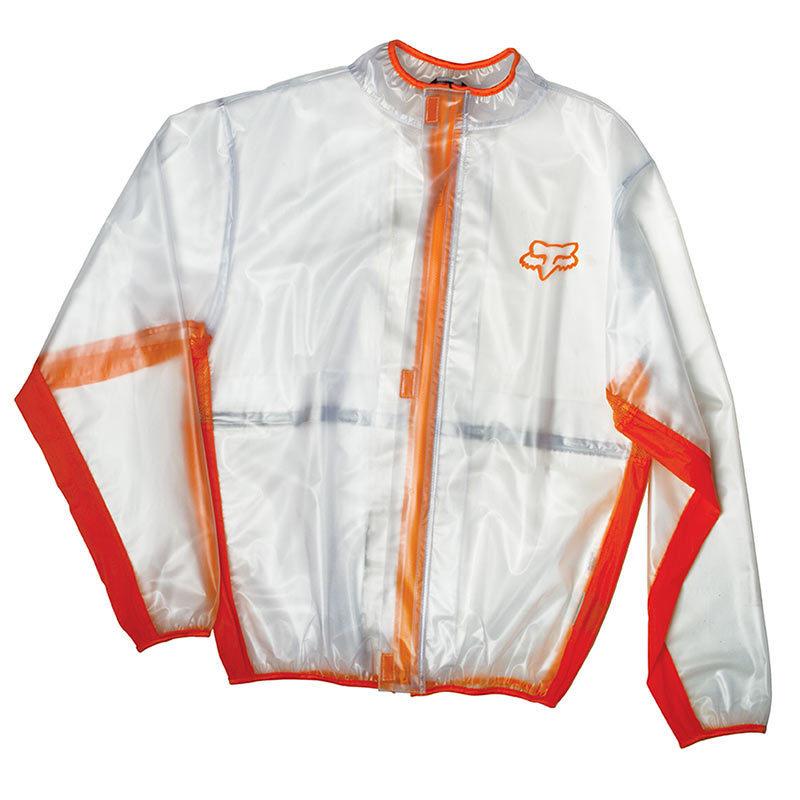 Fox Fluid MX Jacket Orange дождевик, оранжевый