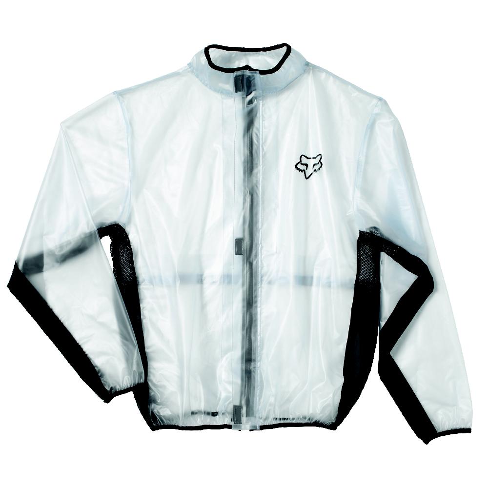 Fox Fluid MX Jacket Black дождевик, черный