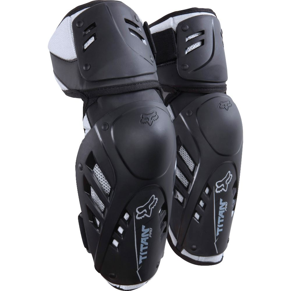 Fox Titan Pro Elbow Guard Black налокотники